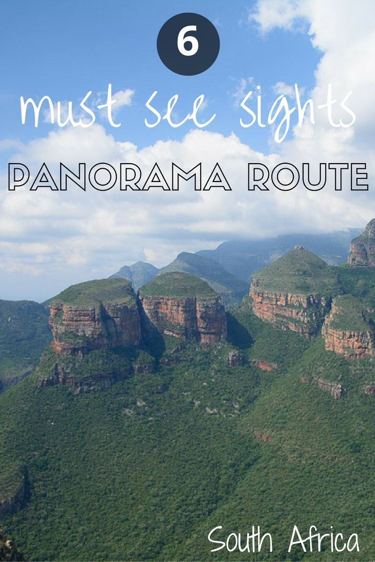 Must see sights and best stops on Panorama Route, South Africa