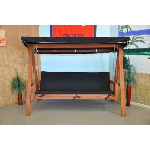 Tredor Trading Rivers 3 Seater Swing Bed with Cushion