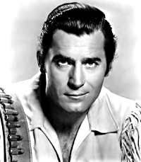 Clint Walker from Cheyenne and other Westerns.