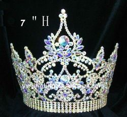 alibaba AB crown | Pageant Ab Clear Crystal Crown - Buy Crown,Full Round Pageant Crown ...