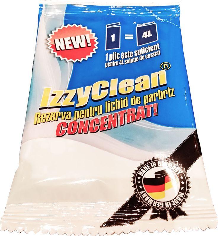 Pentru un parbriz curat foloseste solutia lichida de la IzzyClean. Cu doar 40ml poti obtine 4L solutie de spalat parbrizul. http://izzyclean.ro/produse/concentrat-lichid-spalat-parbriz/