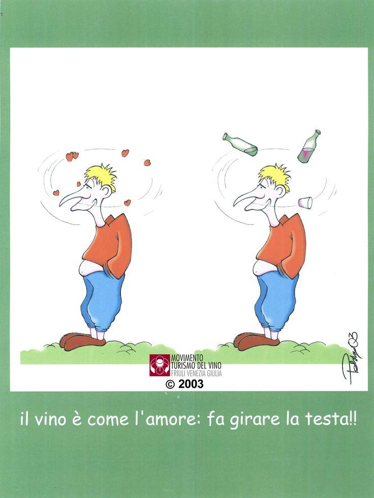 2003, Alessandro Poberai, Il vino è come l'amore.. fa girar la testa