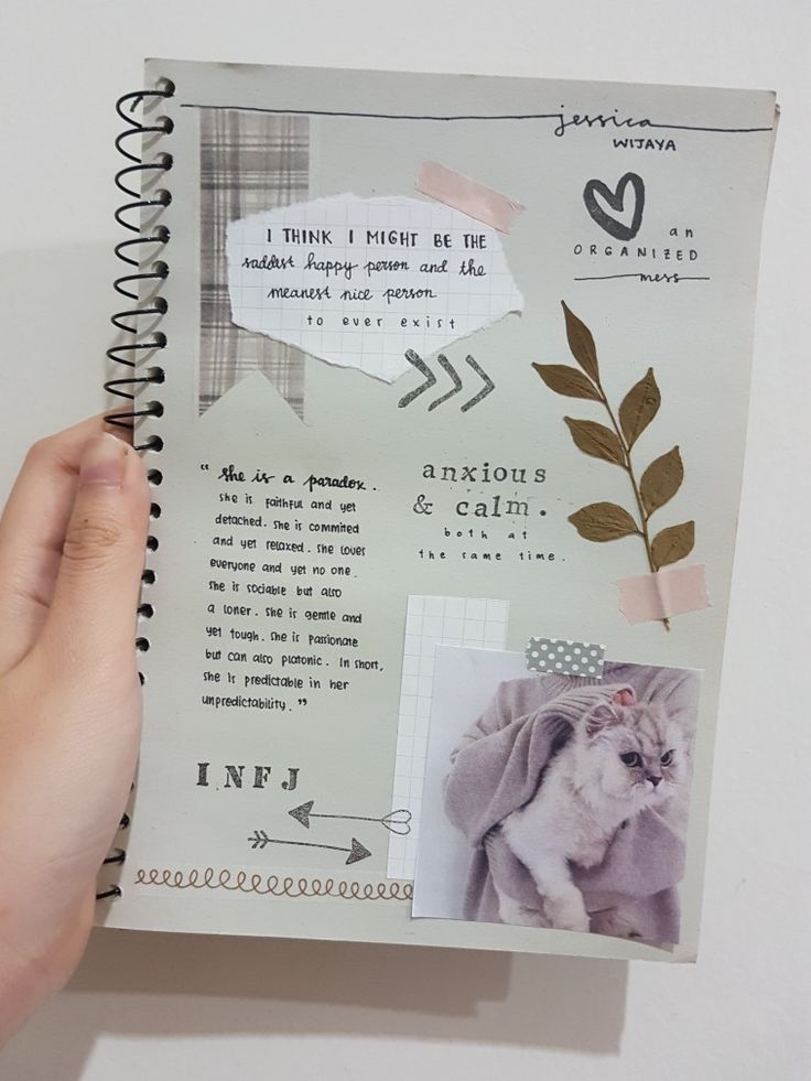 First page journal idea Jessica Wijaya