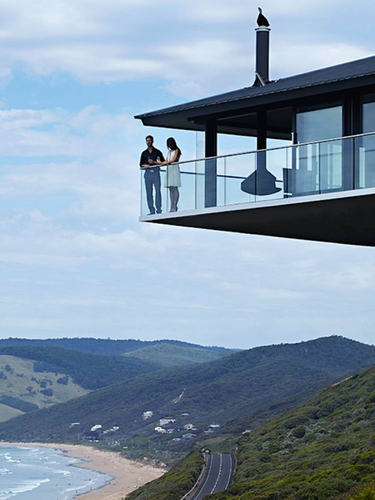 Pole House by F2 Architecture, Fairhaven beach, Great Ocean Road, Australia