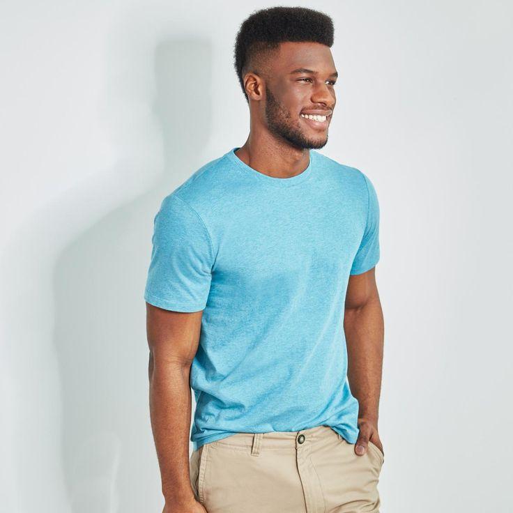 Buy Men's Pima Cotton Crew Neck Tee Online & Reviews