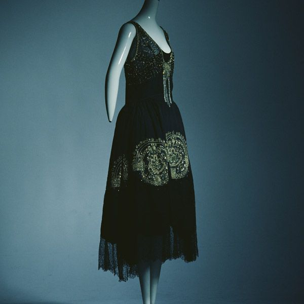 Evening Dress- The first half of the 1920's
