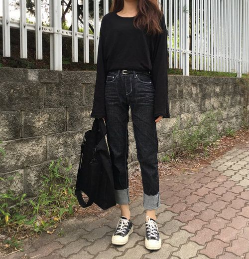 รูปภาพ asian, korean girl, and casual