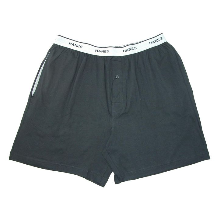 Great for sleeping, lounging around the house or even running errands. The soft yet sturdy jersey knit resists shrinking and comes out of the dryer virtually wrinkle free. Great for sleeping in - these lightweight and breathable shorts will help you maintain a cool temperature for a great sleep. The soft cotton elastic waistband reads Hanes and provides a great fit.