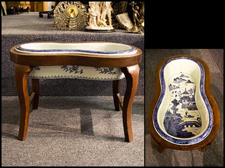 Fine Asian ceramic bidet