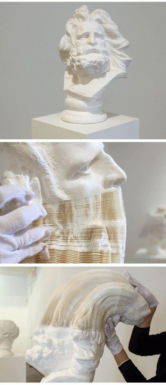 Li Hongbo -  sculture di carta