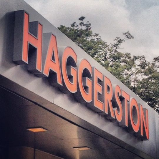Haggerston London Overground Station