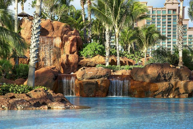 The Grotto Pool at Atlantis Resort, Paradise Island - Bahamas  www.bahamasdaypass.com