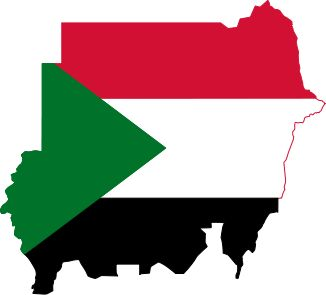 ????? ??? ????? ?? ?sudan flagged map??