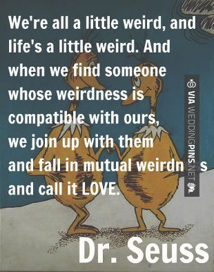 Everybody needs a little quote from Dr. suess today! #childrensbooks #thisistheplace #readtoyourkids