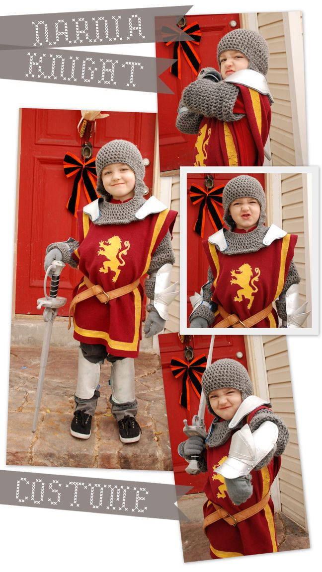 now that's a handmade costume! Lorajean's Magazine: knight costume