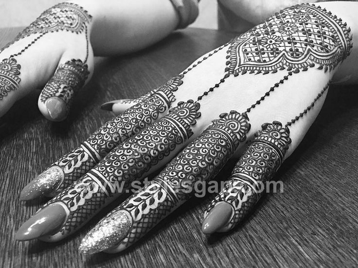 Latest Arabic Mehndi Designs Henna Trends 2017-2018 Collection (6)