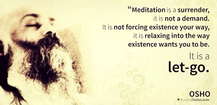 Osho on meditation