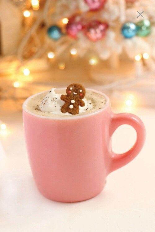 Chocolate christmas, chocolat chaud avec petit pain d'épices