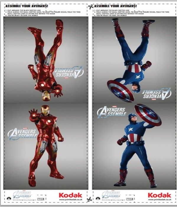 Easy Superhero Puppets