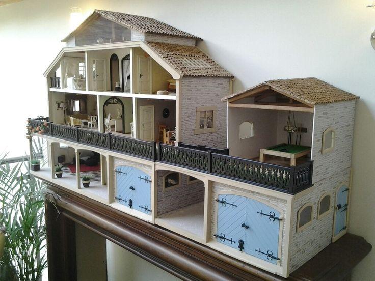 Lundby dollshouse renovation nearly finished
