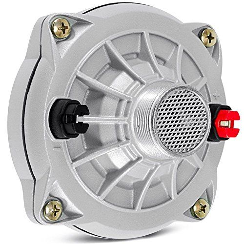 """Selenium D250-X Phenolic Compression Driver. Low distortion and extreme clarity in the critical mid or vocal range Phenolic diaphragm for smooth response and high reliability. Standard 1-3/8""""-18 TPI screw mount Popular driver for Leslie rotating speakers and guitar """"talk boxes"""" too! Sold individually. Dimensions: 4.41"""" dia. x 3"""" D."""