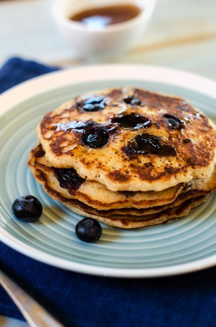 Blueberry Quinoa Pancakes. Lots of great quinoa recipes