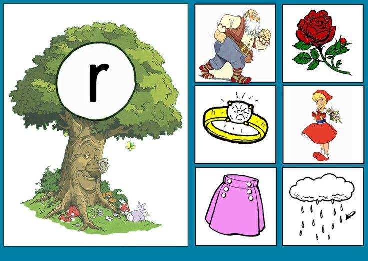 * Sprookjesboom: Letterkaart R