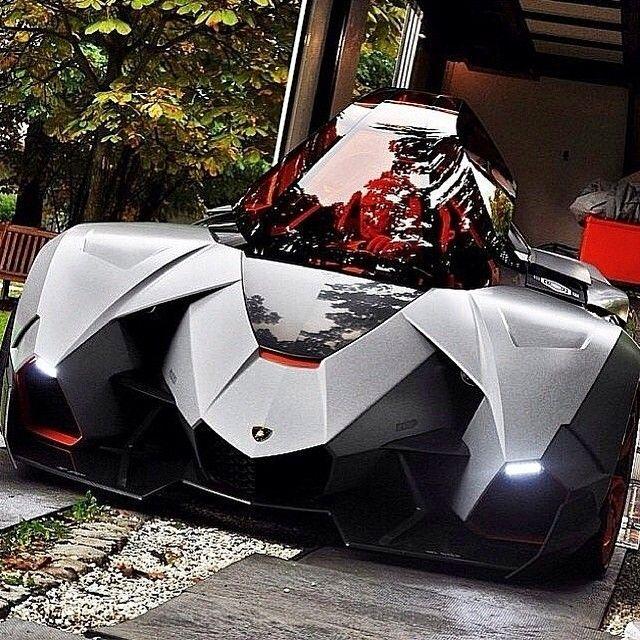 Lamborghini Egoista Concept Car Black: Lamborghini Egoista (With Images)