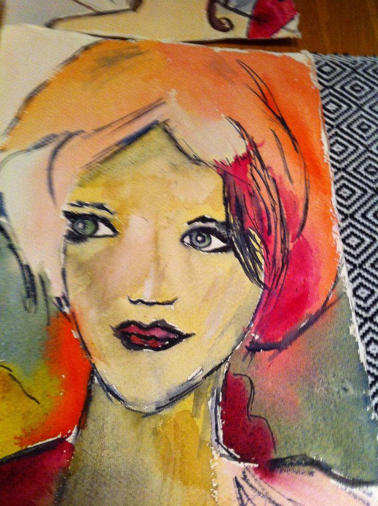 watercolour 22x30