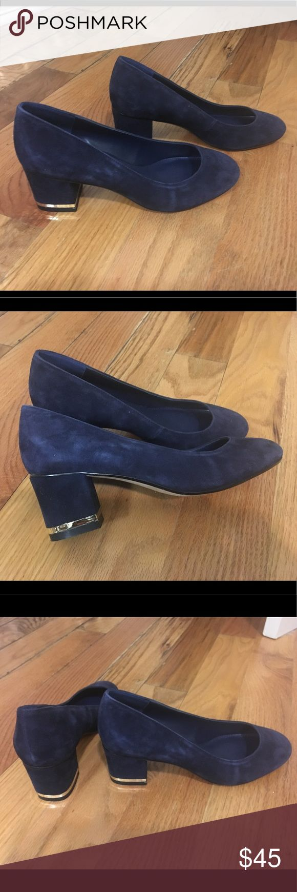 """DUNE London Suede Heel Dune London Suede Heel Size 6  Heel height approx 2.5""""  These were used as SALES SAMPLES in the Showroom in NYC.  *Never been worn Dune London Shoes Heels"""