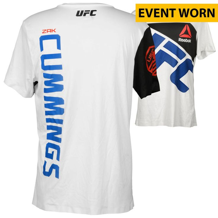 Zak Cummings Ultimate Fighting Championship UFC on FOX Dillashaw vs. Barao 2 Event-Worn Walkout Jersey - Defeated Dominique Steele via First Round Knockout