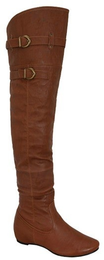 Dottie Couture Boutique - Knee High Riding Boot- Cognac, $68.00 (http://www.dottiecouture.com/knee-high-riding-boot-cognac/)