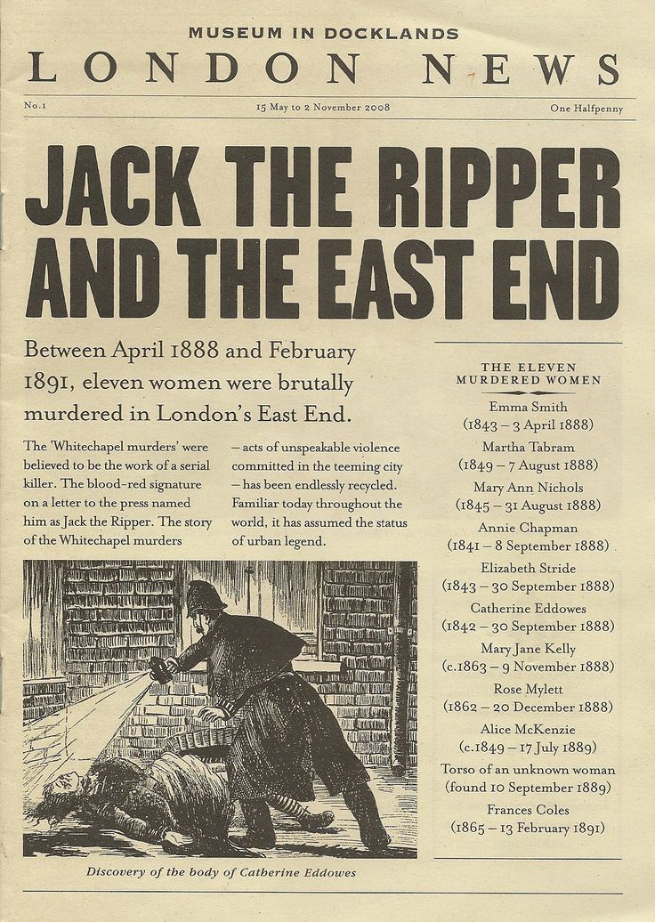 why was jack the ripper never caught Jack the ripper was a notorious serial killer, whom some believe never even existed at all he was the first successful serial killer and no one knew the identity of jack the ripper.