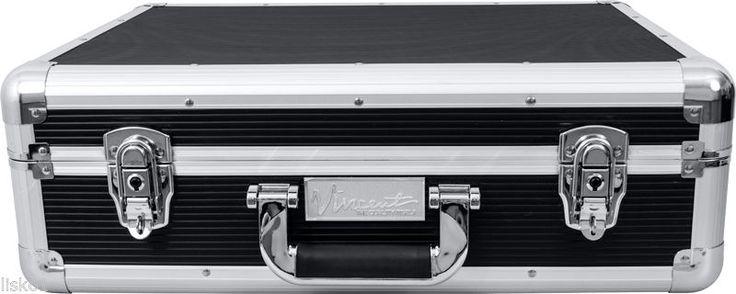 Vincent Master Barber Large Clipper Trimmer Storage Travel Case VT10142-BK black
