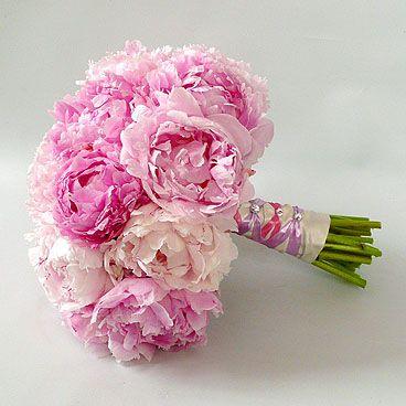 My wedding bouquet, peonies -ES
