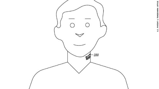 "Google planea patentar un ""tatuaje electrónico de garganta"""