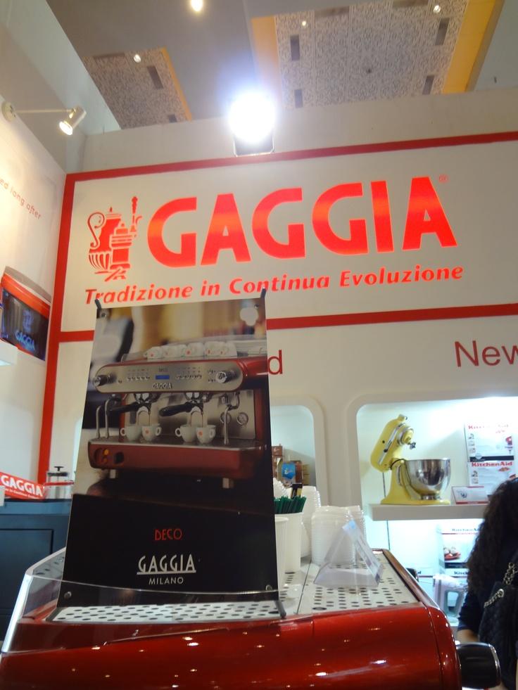 Interfood 2012- Gaggia