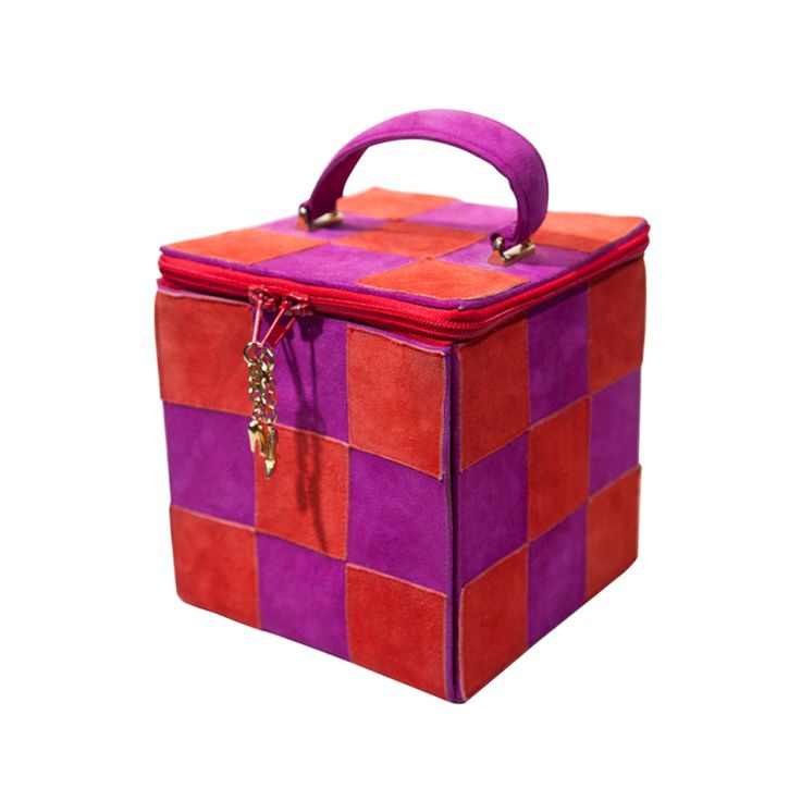 "Maud Frizon Color-Block ""Box Bag""  France"