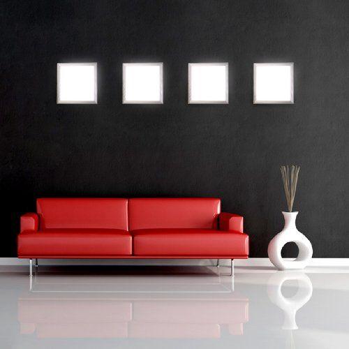Panneau lumineux LED - LEDPL30x30 - applique murale - dalle de plafond - 30x30cm: Amazon.fr: Luminaires et Eclairage