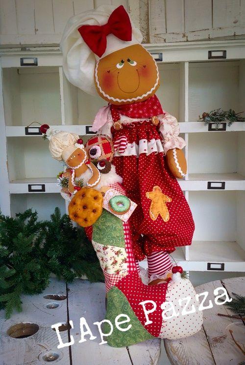 Cartamodelli ginger Natale 2015 : Dora e Berry
