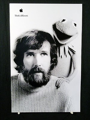 Think Different.: Books, Jimhenson, Brian Jay, Jim Henson, Kermit, Apples, The Muppets, Jay Jones, Biographies