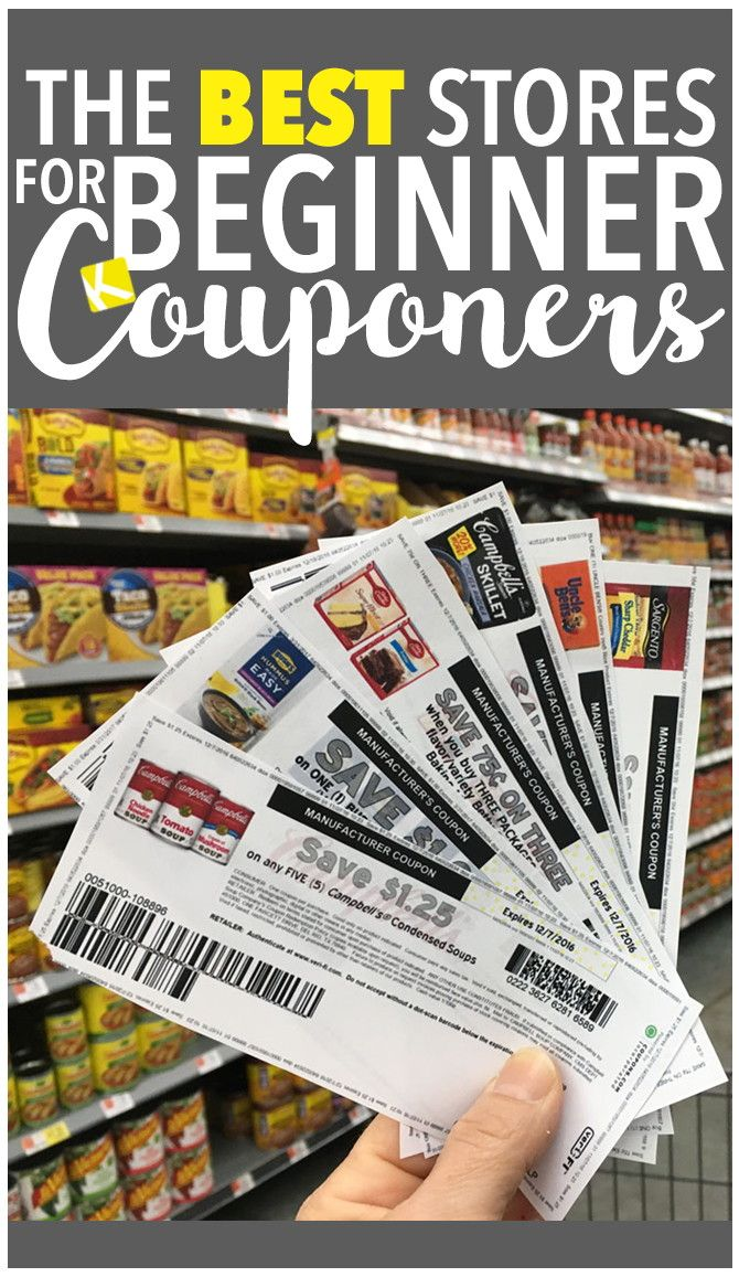 The Best Stores for Beginner Couponers