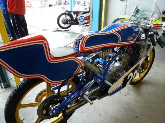 Henk Van Kessel 50cc Moto GP Racer