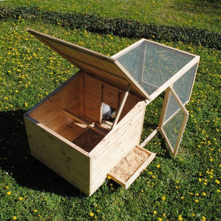 Poulailler en kit - poulailler en bois de pin