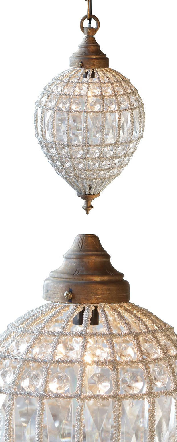 The Montalvo Crystal Chandelier blends traditional elegance with a tempered art deco feel. Its hand-cut geometric crystal shade looks sensational against a distressed metal pendant holder, creating the...  Find the Montalvo Crystal Chandelier, as seen in the #UrbanBohemia Collection at http://dotandbo.com/collections/urbanbohemia?utm_source=pinterest&utm_medium=organic&db_sku=115293