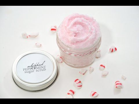 Whipped Peppermint Sugar Scrub Recipe - The Idea Room