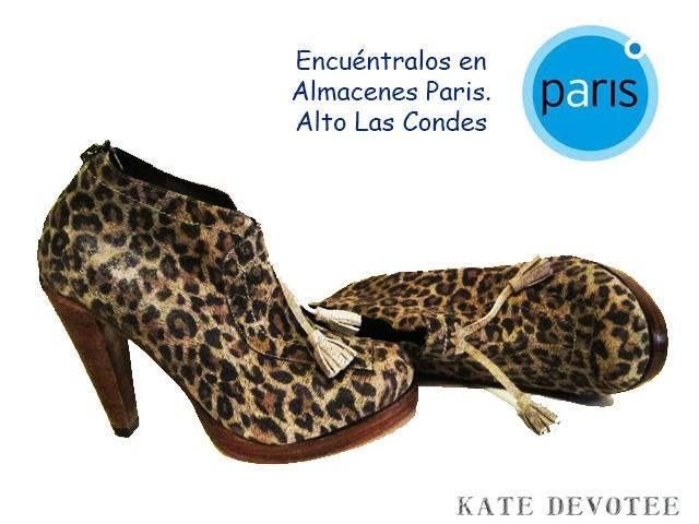 Zapato Leopardo.   Encuéntralos en Almacenes Paris Alto Las Condes  $95000    Tallas 35 al 40  100% Cuero    Visita nuestra Tienda Online:  www.katedevotee.cl  www.katedevotee.blogspot.com  Síguenos en Facebook y Twitter