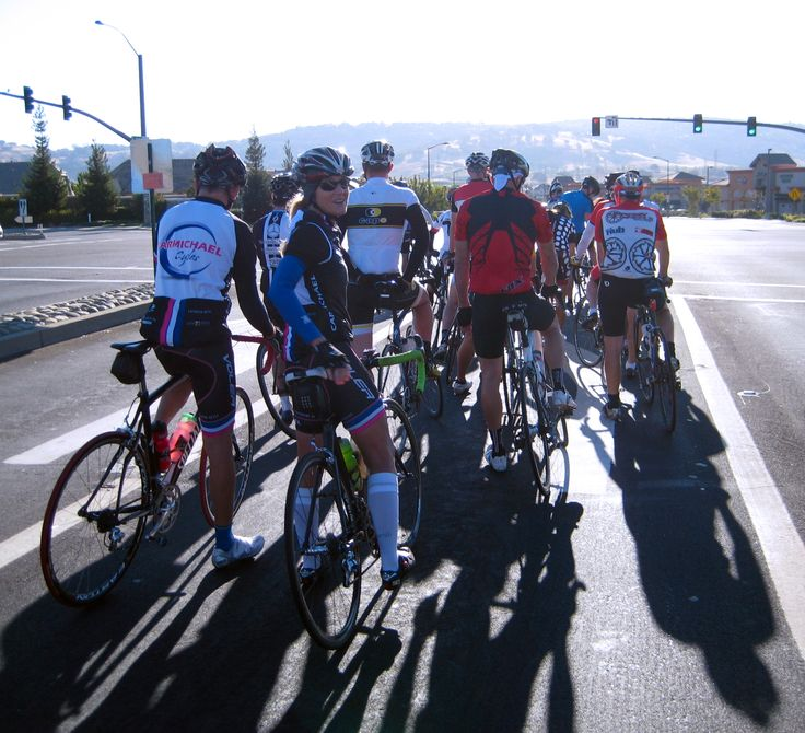 Group ride.