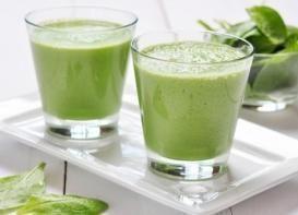 Licuado de espinaca y leche de coco MILAGROSO para bajar de peso (RECETA)