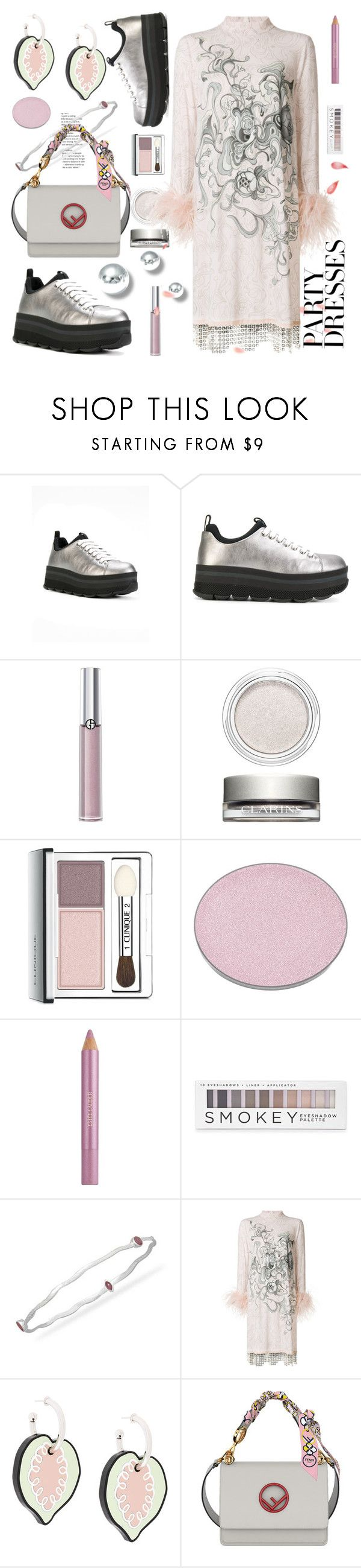 """Без названия #3440"" by ilona-828 ❤ liked on Polyvore featuring Prada, Armani Beauty, Clarins, Clinique, Chantecaille, Estée Lauder, Forever 21, Marni, Fendi and polyvoreeditorial"